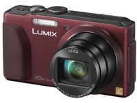Red Panasonic lumix TZ40