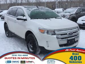 2012 Ford Edge SEL   BACKUP CAM   SUNROOF   MUST SEE