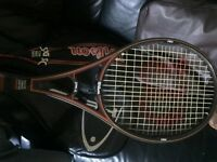 3x Tennis rackets - head tornado, tornado 660 and Wilson sting SC