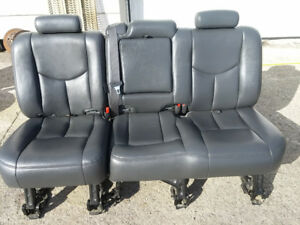 Back leather seat- classic chev gmc crew cab
