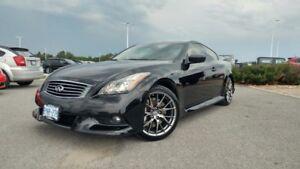 2011 Infiniti G37 IPL Coupe Black On Red NO ACCIDENTS