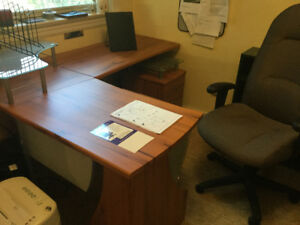 Student/Office desk and chair