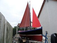 18 Foot Traditional Lugger
