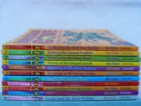 Bundle of 11 Dinosaur Cove Adventure Books no's 10 to 20 by Rex Stone