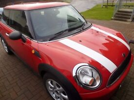 Lovely Mini One 1,4, '59reg with only 48k miles!