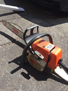 """Stihl 036 with new 20"""" bar and chain"""