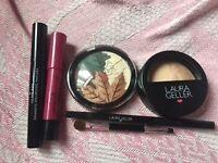 Laura Geller - eye pallet, face pallette, glam eye mascara, lip and eye liner