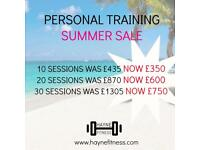 Personal Training - Summer Sale