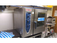 RATIONAL SINGLE PHASE COMBI STEAM OVEN With Stand & Filter Bottle Steam/Heat £1000 ONO