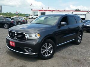 2016 Dodge Durango Limited AWD w/DVD