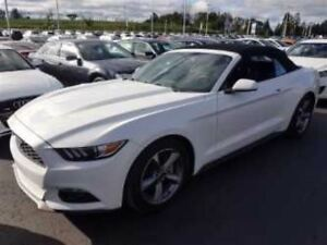 2016 Ford Mustang V6 CONVERTIBLE! $81/WK, 5.49% ZERO DOWN! REAR