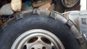 Grizzly 660 Tires and Rims