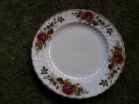 """English Rose"" plates. Washington pottery limited."