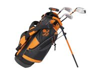 Tiger Cub kids junior golf set age 6-8 top of the range in kids clubs in box brand new