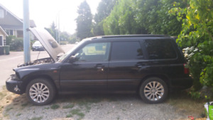 ** manual2001 JDM Subaru forester stb fixer/parts128000 km