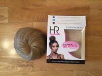 H R Hair Rehab Clip on Bun/Top Knot
