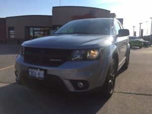 2016 Dodge Journey SXT BLACKTOP 3.6V6 7 PASS HEATED SEATS BLACK
