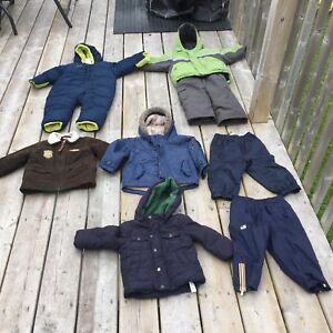 Boys jacket/ snow pants/splash pants