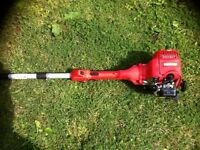 Long reach petrol hedge trimmer/ pole trimmer