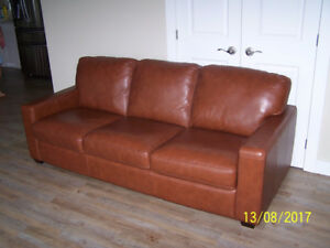 Leather couch by Palliser