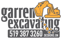 Small excavating jobs - our specialty