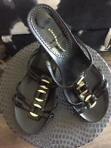Lightly used wedge sandals...