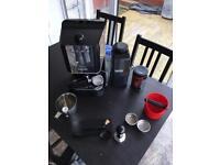 Espresso Coffee Machine - Gaggia Baby - Full Kit