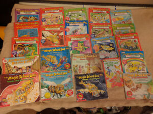 23 Magic School Bus Picture Paperback Books