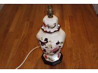 Mason's Ironstone Table Lamp