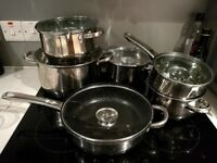 12-Piece Cookware Set - Induction, Oven & Dishwasher safe