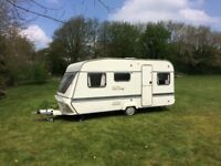 Glamper for festivals or great spare room, stylish two berth conversion