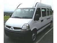 minibus hire tansfers