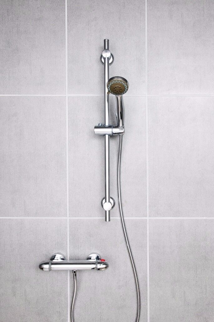 Brand New Regal Round Shower with Thermostatic Bar Valve