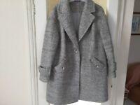 Very smart light grey jacket 18
