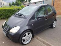 """MERCEDES BENZ A190 ELEGANCE AUTOMATIC. FULL HEATED LEATHER. PARKING SENSORS. 17"""" MERCEDES AMG ALLOYS"""