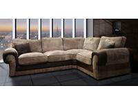 New Ashley corner sofa with free footstool