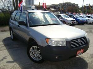 2007 Subaru Forester 2.5X AWD Accident & Rust Free Sunroof