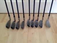 Mens Yonex Golf Irons Clubs For Sale. VGC.