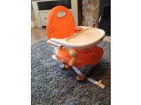 Child's portable seat / high chair