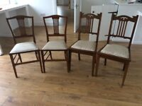 Antique chairs, 4.