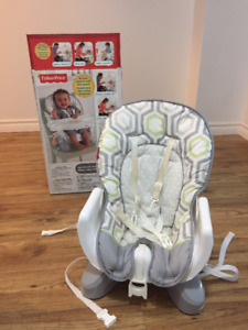 Fisher-Price SpaceSaver HIGH CHAIR with Tray