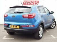 2011 Kia Sportage 1.7 CRDi ISG 2 5 door Diesel Estate