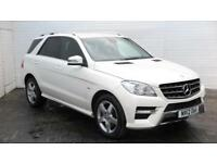 2012 Mercedes-Benz M Class 2012 12 Mercedes ML250 2.1 CDI Sport Bluetec Diesel w