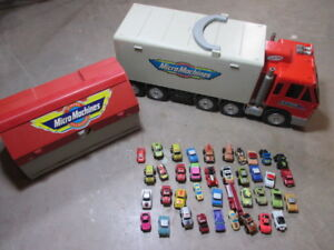 Micro Machines toy cars and Playsets