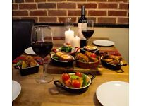 Waiting staff needed for unique St. Albans town centre restaurant