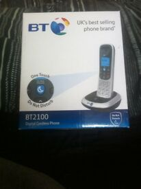 Bt 2100 digital cordless phone absolutely brand new in box and bagged