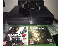 Xbox One(Good Condition) with Custom SCUF controller and Games