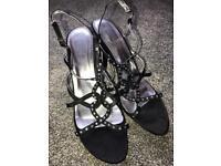 Ladies Black Shoe /Sandal 6