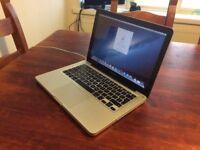 """Apple Macbook Pro 13"""" mid 2012 4GB Ram 500GB HDD"""