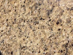 """Beautiful, 2"""" thick granite"""